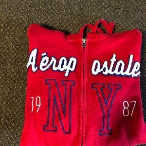 Aeropostale's zip up jacket